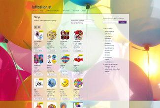 luftballon.at - Onlineshop