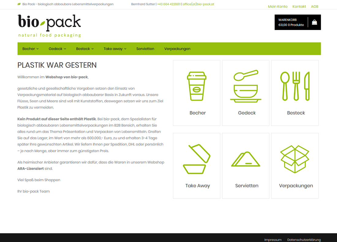 bio pack – natural food packaging