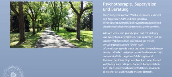 Wachtumsräume – Psychotherapie, Supervision und Beratung in Wien 18