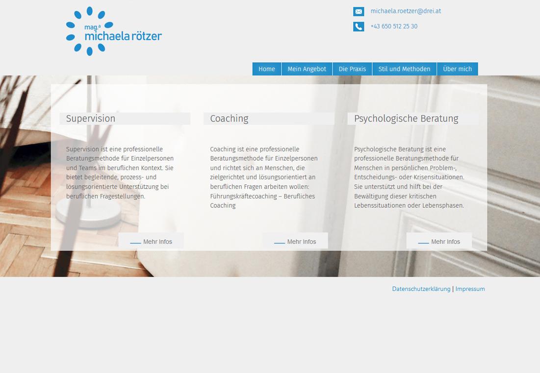 Michaela Rötzer - Supervision - Coaching - psychologische Beratung
