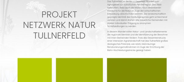 Projekt Netzwerk Natur Tullnerfeld