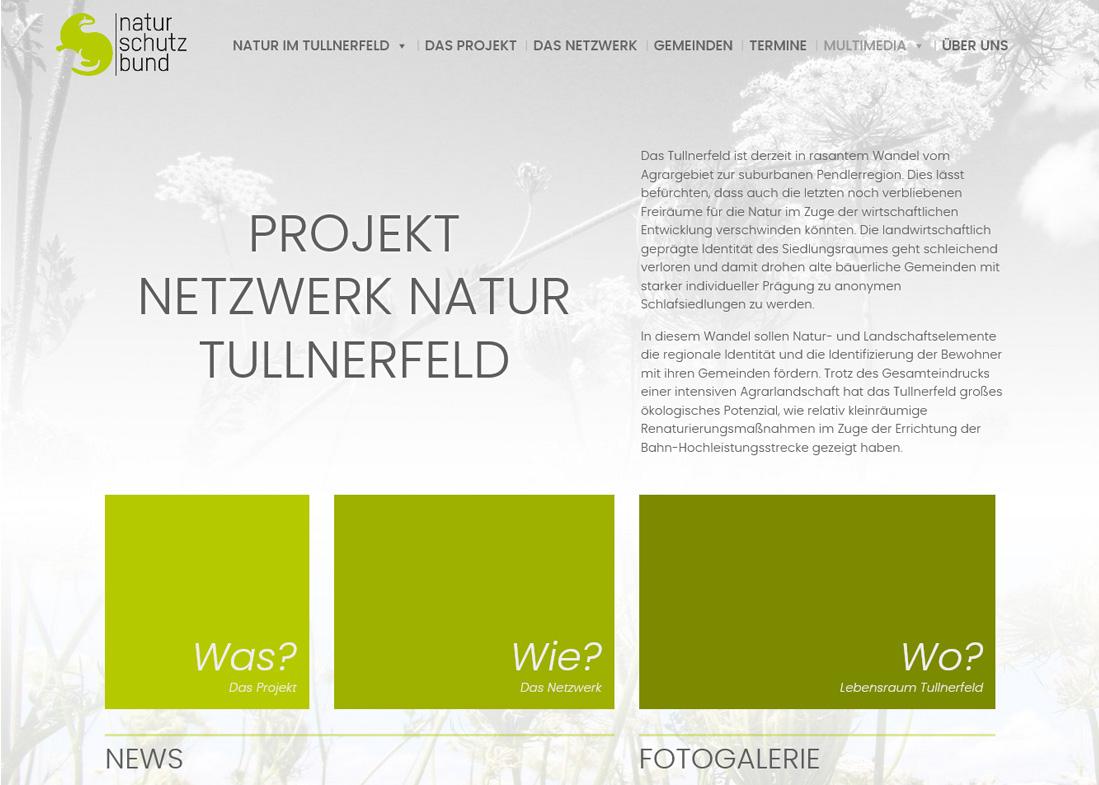 webartig - Projekt Netzwerk Natur Tullnerfeld